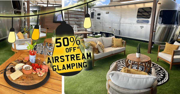 Airstream Glamping Promotion