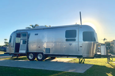 Airstream Caravans take glamping to a new level