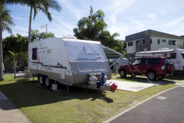 9m to 10m Powered Caravan Sites