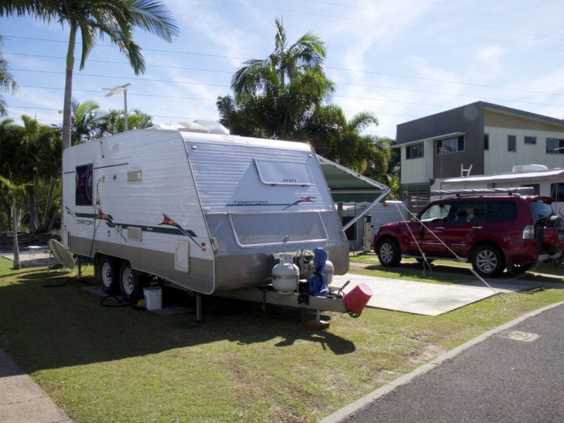 10, Powered Caravan Site