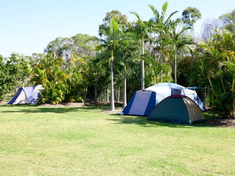 unpowered camp sites