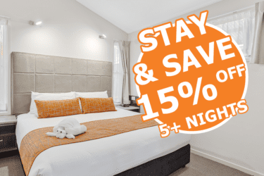 Stay 5+ nights and SAVE