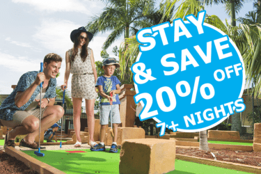 Stay 7+ nights and SAVE