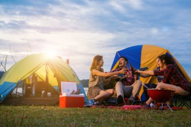 Top tips for summer camping trips
